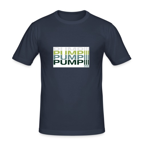pump - Männer Slim Fit T-Shirt