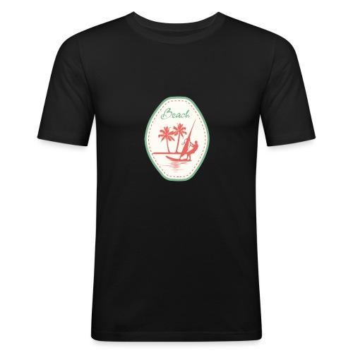 Beach - Men's Slim Fit T-Shirt