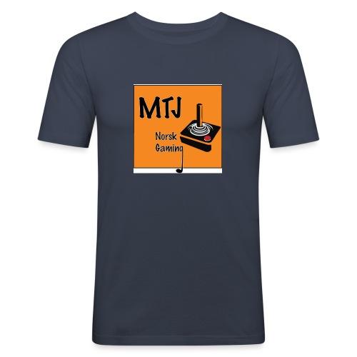 Mtj Logo - Slim Fit T-skjorte for menn
