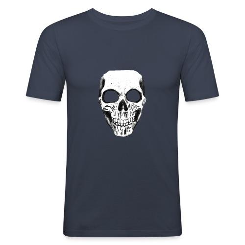 totenschädel.png - Männer Slim Fit T-Shirt