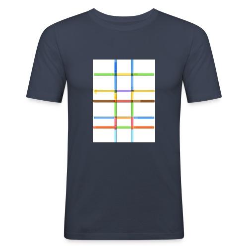Prankdown2 symbol - Slim Fit T-shirt herr