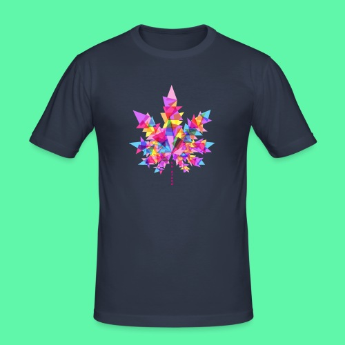 Mary Jane pink - Herre Slim Fit T-Shirt