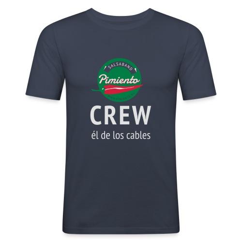 Pimiento Crew Gear - Mannen slim fit T-shirt