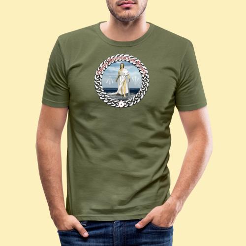 Ordre Druidique de Dahut Logo - T-shirt près du corps Homme