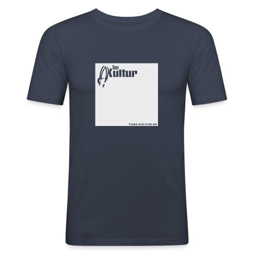 TK HOLLOW SHIRT GREY BRIGHT png - Männer Slim Fit T-Shirt