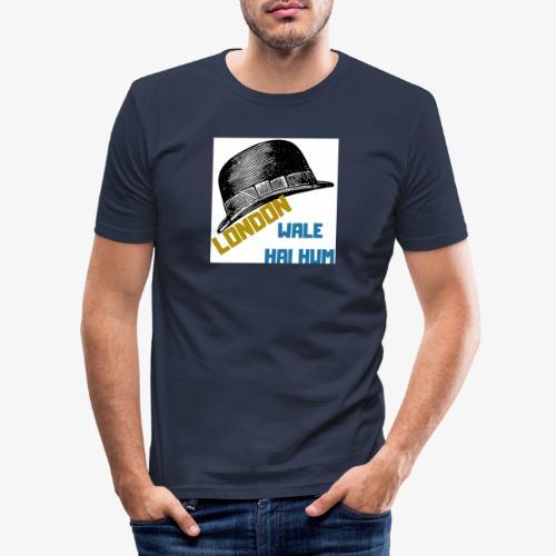 LONDON WALE - Slim Fit T-shirt herr