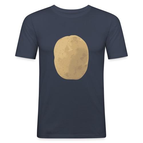 Aardappel - Mannen slim fit T-shirt