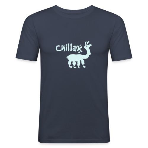 chillax - Männer Slim Fit T-Shirt