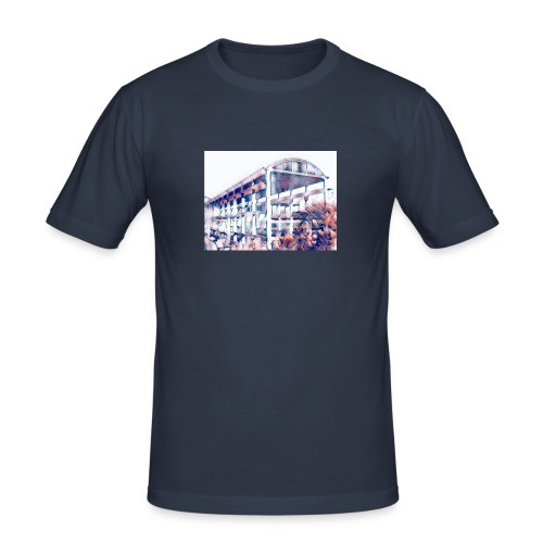 cementify color - Maglietta aderente da uomo