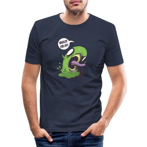 Wiggler For Life - Men's Slim Fit T-Shirt