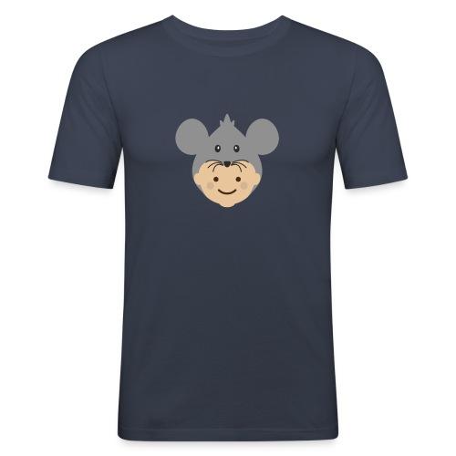 Mr Mousey | Ibbleobble - Men's Slim Fit T-Shirt