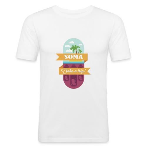 Soma - Il mondo nuovo - Aldous Huxley - Maglietta aderente da uomo