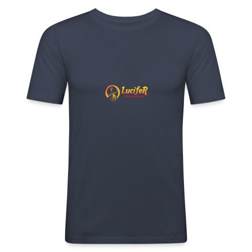 Lucifergaming - Mannen slim fit T-shirt