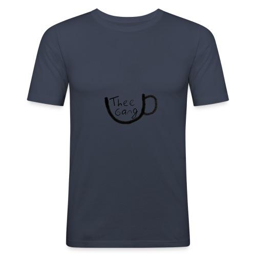 theegang zwart - Mannen slim fit T-shirt