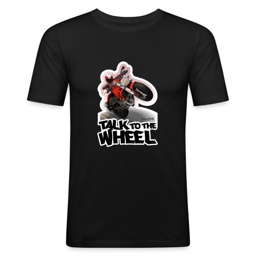 Ducati Monster Wheelie B - Camiseta ajustada hombre