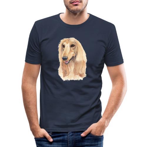 afghanskMynde- A - Herre Slim Fit T-Shirt