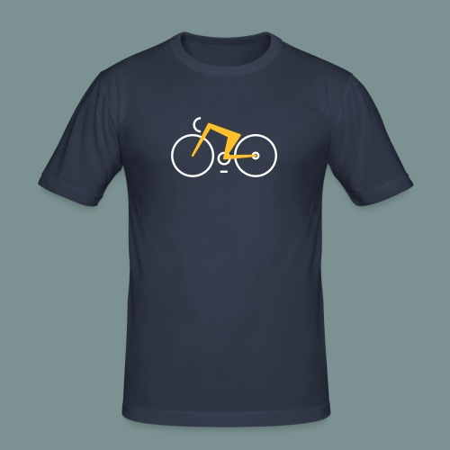 Bikes against cancer - Herre Slim Fit T-Shirt