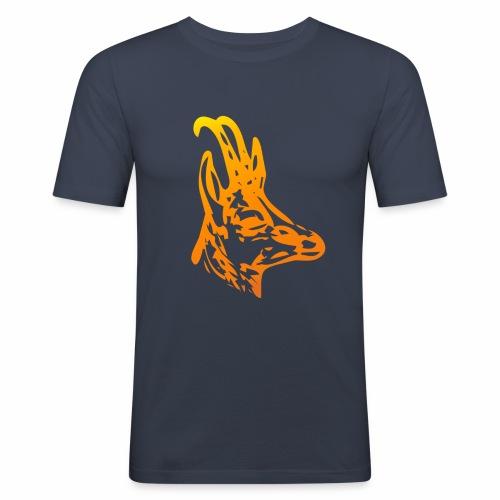 Gams Bock - Männer Slim Fit T-Shirt