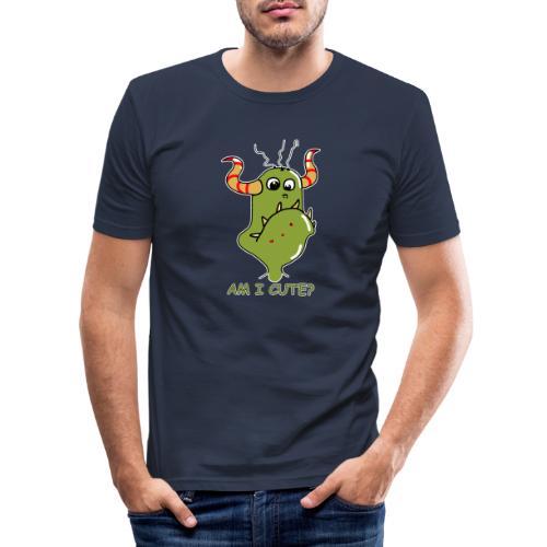 Cute monster - Men's Slim Fit T-Shirt