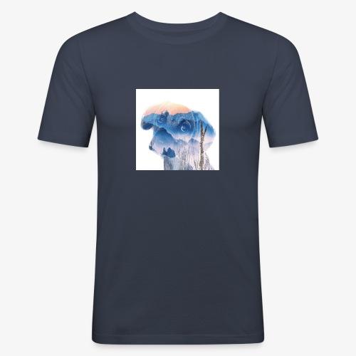Süsser Hund - Männer Slim Fit T-Shirt