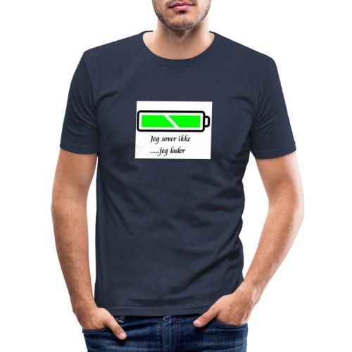 lader_2 - Slim Fit T-skjorte for menn