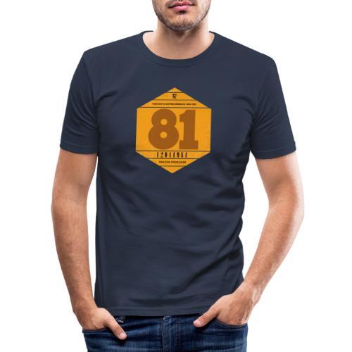 Vignette automobile 1981 - T-shirt près du corps Homme