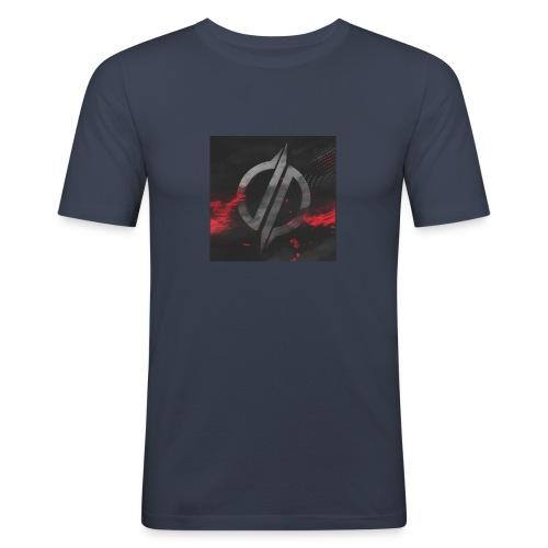 overreagerte - Slim Fit T-skjorte for menn