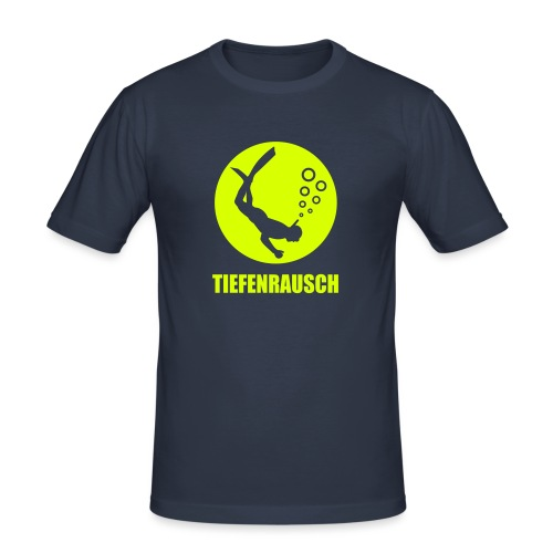 tiefenrausch - Männer Slim Fit T-Shirt