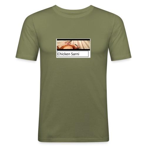 chicken sarni - Men's Slim Fit T-Shirt