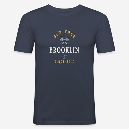 NEW YORK - BROOKLIN - Maglietta aderente da uomo