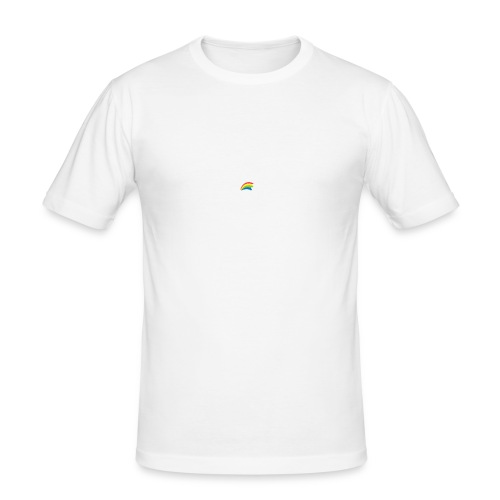 Dru - sometimes I feel like... (weisse Outline) - Männer Slim Fit T-Shirt