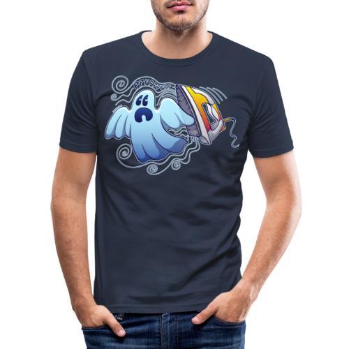 Ghost Ironing Nightmare - Men's Slim Fit T-Shirt