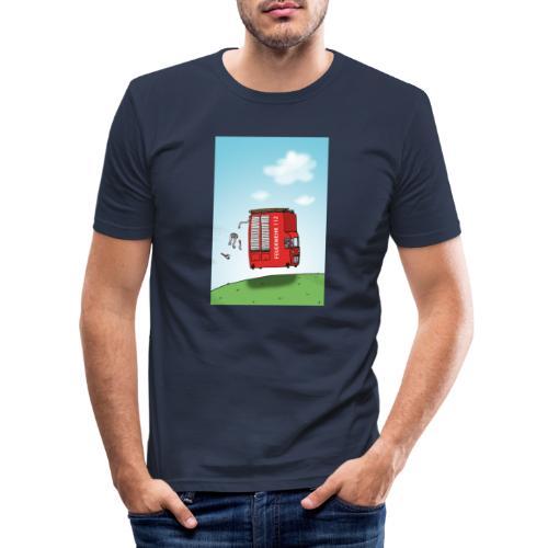 Feuerwehrwagen - Männer Slim Fit T-Shirt