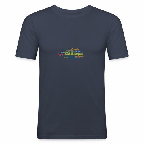 Cáñamo Sustentable - Camiseta ajustada hombre