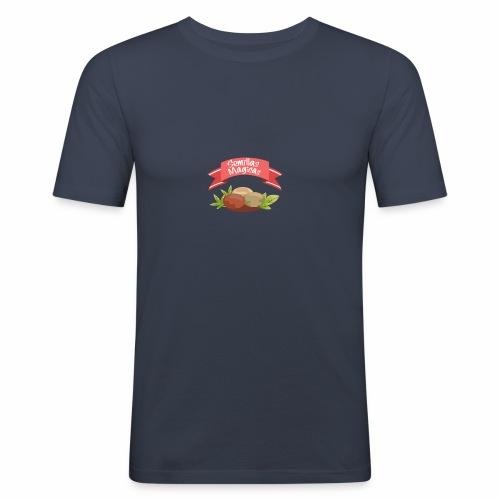 Semillas Mágicas (Cáñamo. Marijuana.) - Camiseta ajustada hombre