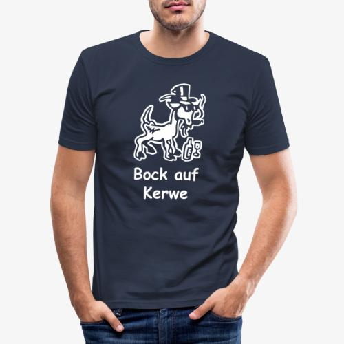 Bock auf Kerwe - Männer Slim Fit T-Shirt