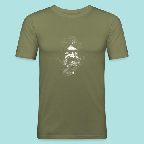 Old Guy, Eyes Open. - Men's Slim Fit T-Shirt
