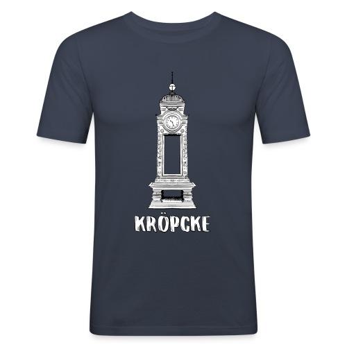 Hannover Kröpcke Uhr - Männer Slim Fit T-Shirt