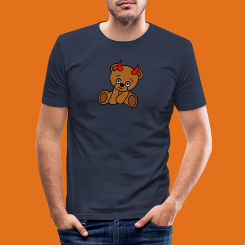devilteddy - Men's Slim Fit T-Shirt