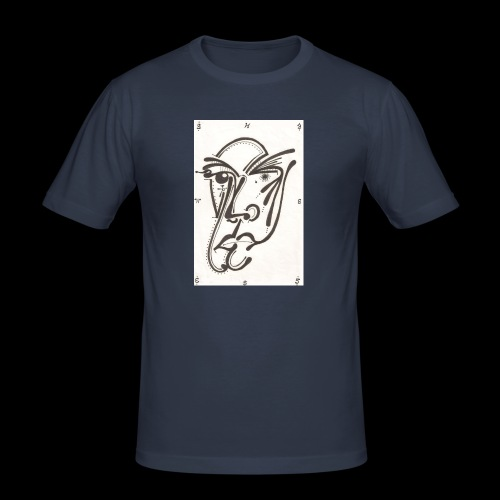 Thames Crossings Hall Of Imagery - Men's Slim Fit T-Shirt