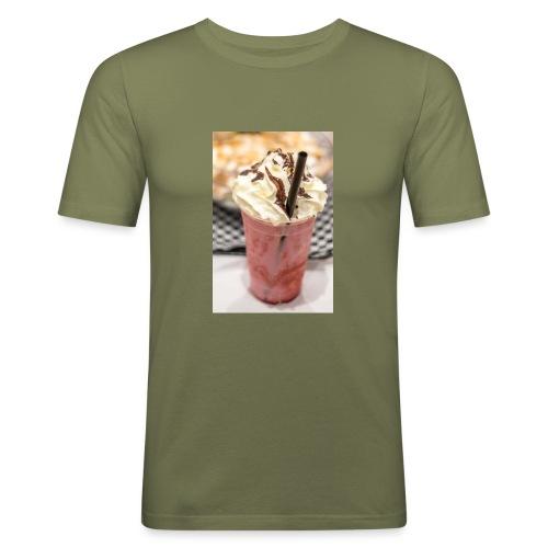 milkshake - T-shirt près du corps Homme
