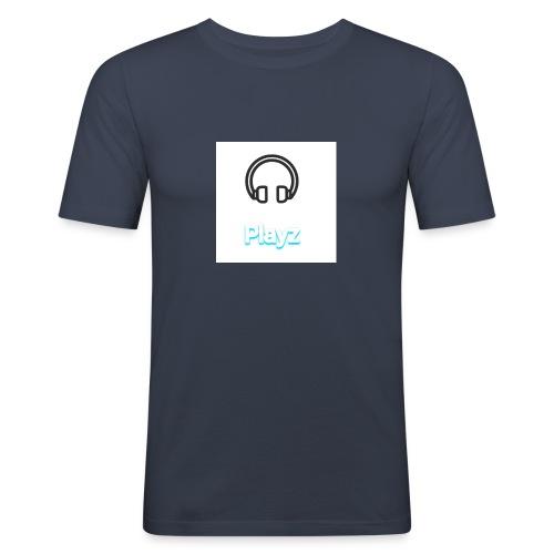 Headphone playz - Men's Slim Fit T-Shirt