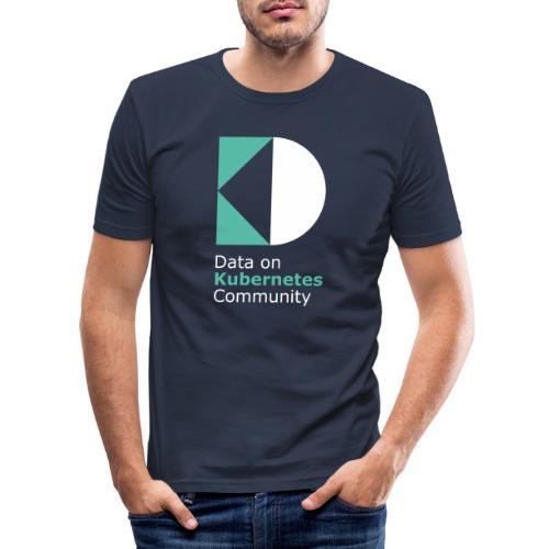 logoDockOK - Camiseta ajustada hombre