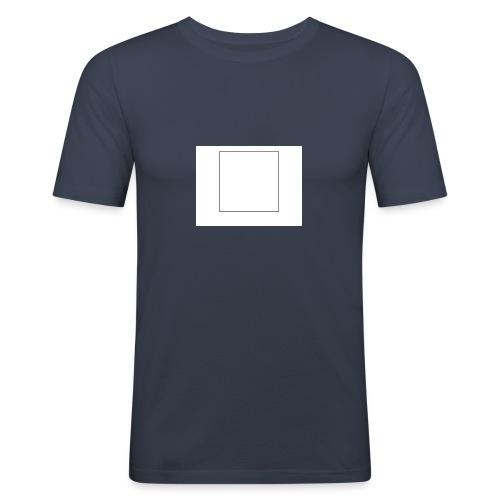 Square t shirt - Mannen slim fit T-shirt