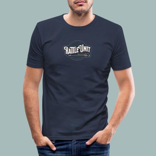 Rattle Unit - Mannen slim fit T-shirt