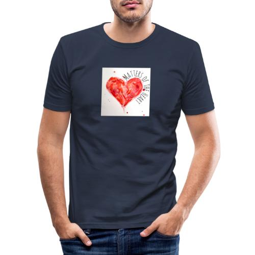 Matters of the Heart - Slim Fit T-shirt herr