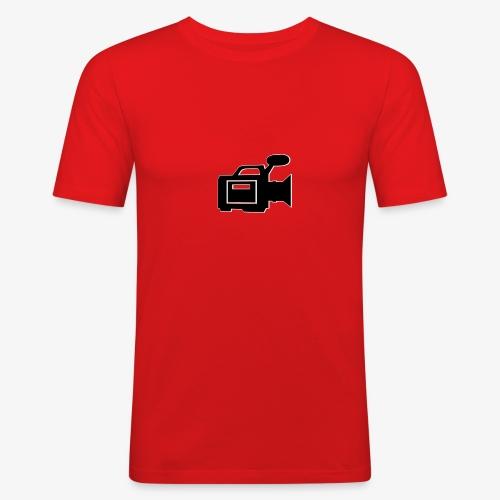 camera - Herre Slim Fit T-Shirt