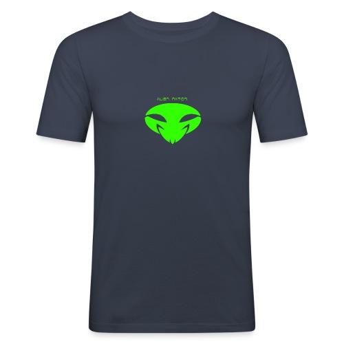 Alien Nation D.N.Alieno - Maglietta aderente da uomo