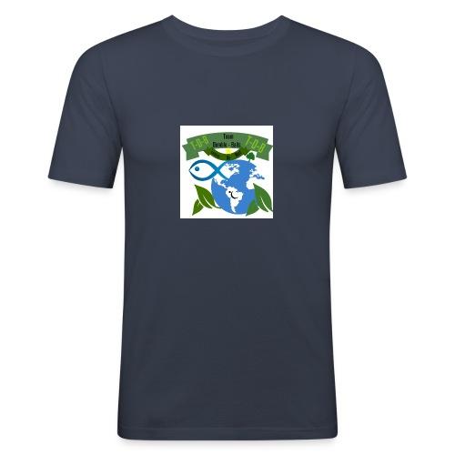 logo dumble baits - T-shirt près du corps Homme