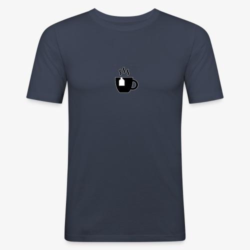 small tea logo - Men's Slim Fit T-Shirt